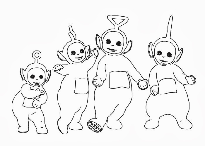 700x500 Teletubbies Coloring Pages Free Coloring Pages And Coloring