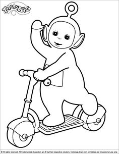 236x305 Free Printable Teletubbies Coloring Pages For Kids Free