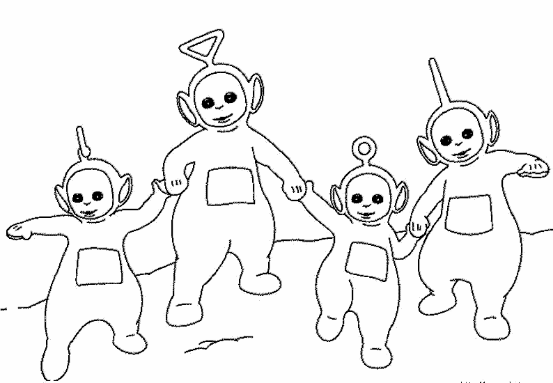 794x550 Lofty Idea Teletubbies Coloring Pages Po Dipsy Book Of Game
