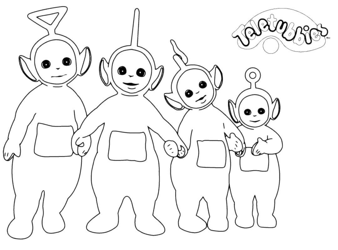 Teletubbies Po Coloring Pages at GetDrawings | Free download