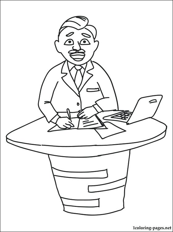 560x750 Tv Coloring Page Presenter Coloring Page Chips Tv Show Coloring