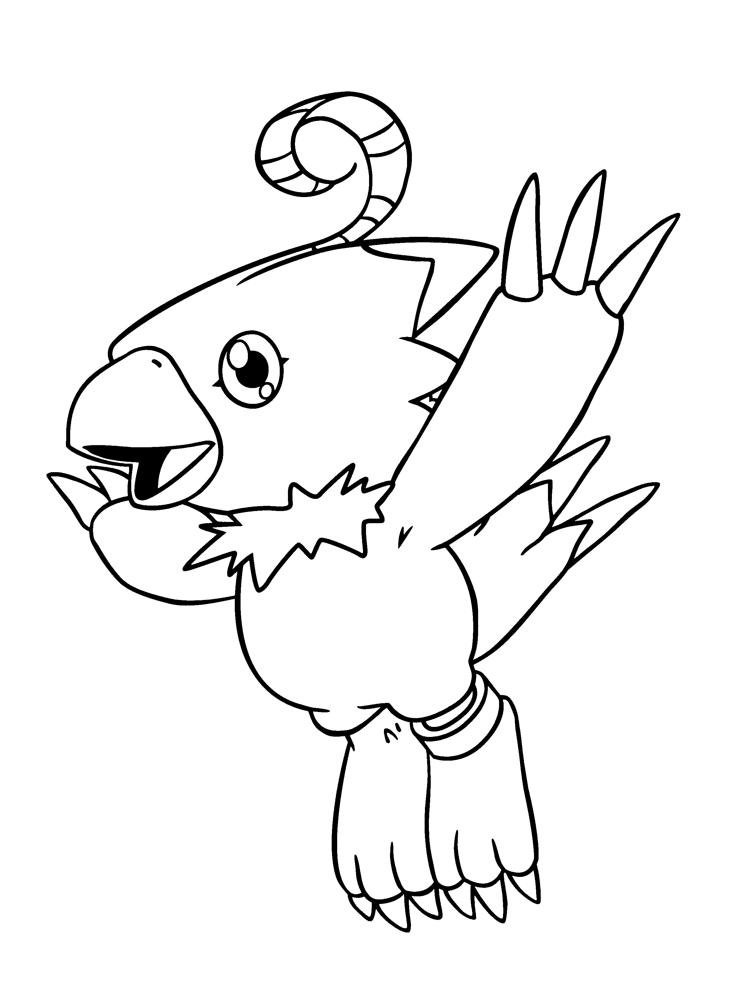 2400x3300 Fortune Digimon Colouring Pages Proven Colorin
