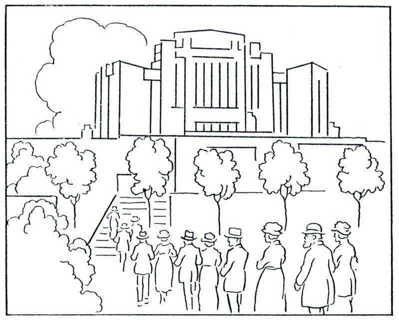 799x647 Salt Lake Temple Coloring Page Temple Coloring Pages Temple