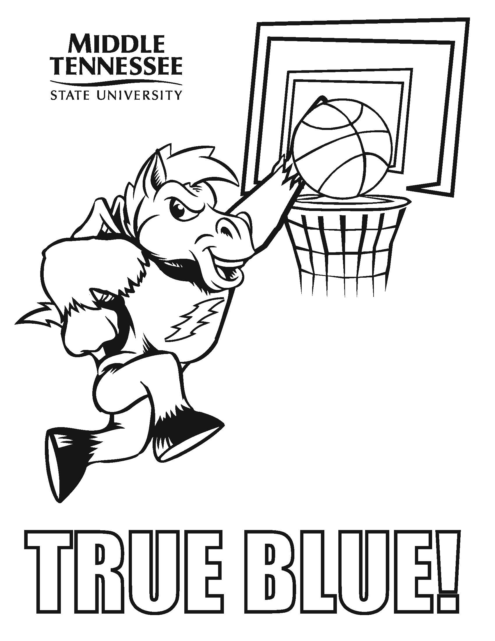 Tennessee Vols Coloring Pages