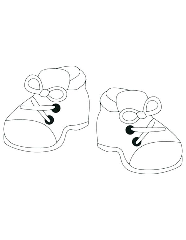 600x774 Running Shoe Coloring Page Image Result For Running Shoe Line