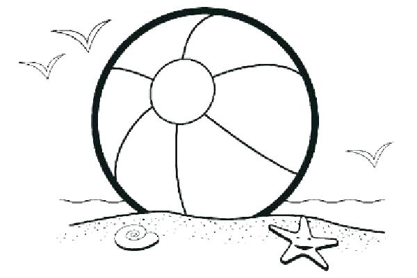 600x400 Tennis Ball Coloring Pages Surfboard Beach In Addition To Colorin