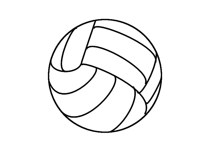 700x500 Colouring Picture Of A Ball Free Coloring Pages Of Ball Ball