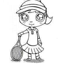 220x220 Tennis Coloring Pages