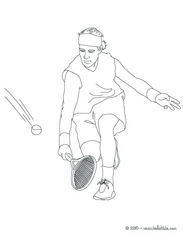 364x470 Tennis Coloring Pages Tennis Player Performing A Western Forehand