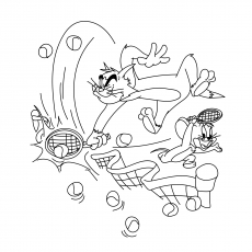 230x230 Top Free Printable Tennis Coloring Pages Online