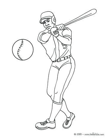 363x470 Printable Baseball Coloring Pages Baseball Coloring Baseball