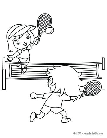 364x470 Tennis Coloring Pages Free Printable Tennis Coloring Pages