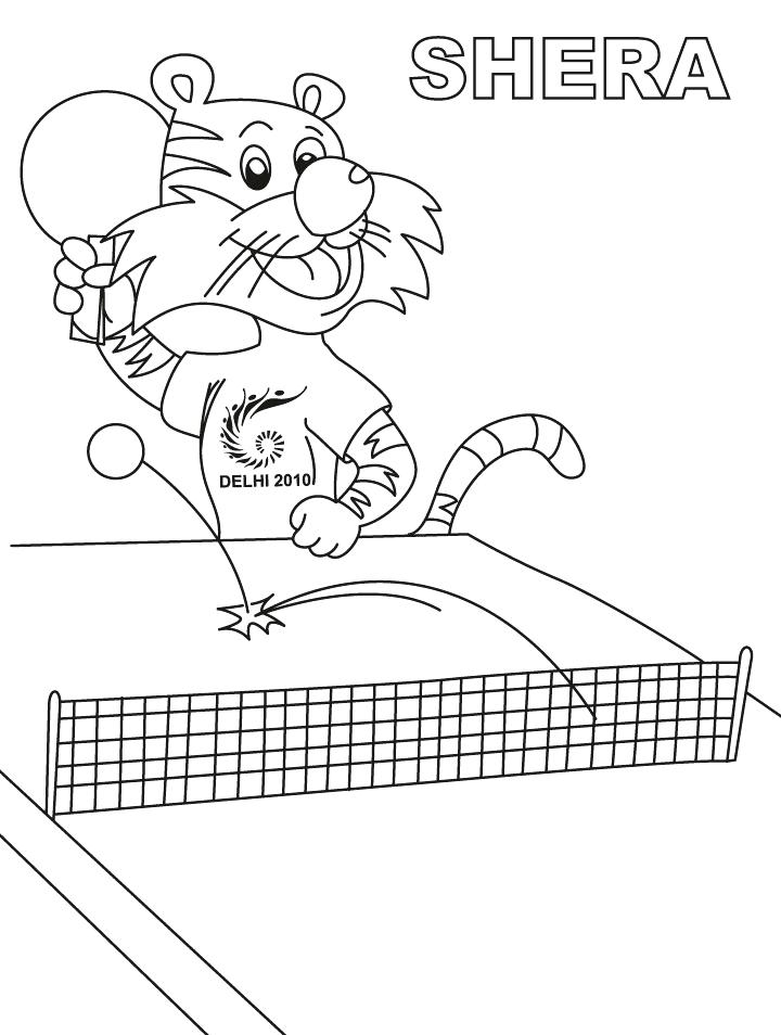 720x954 Tennis Coloring Pages Table Tennis Coloring Pages Pages Tennis