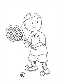 236x330 Tennis Sport Coloring Page For Kids, Printable Free Coloring