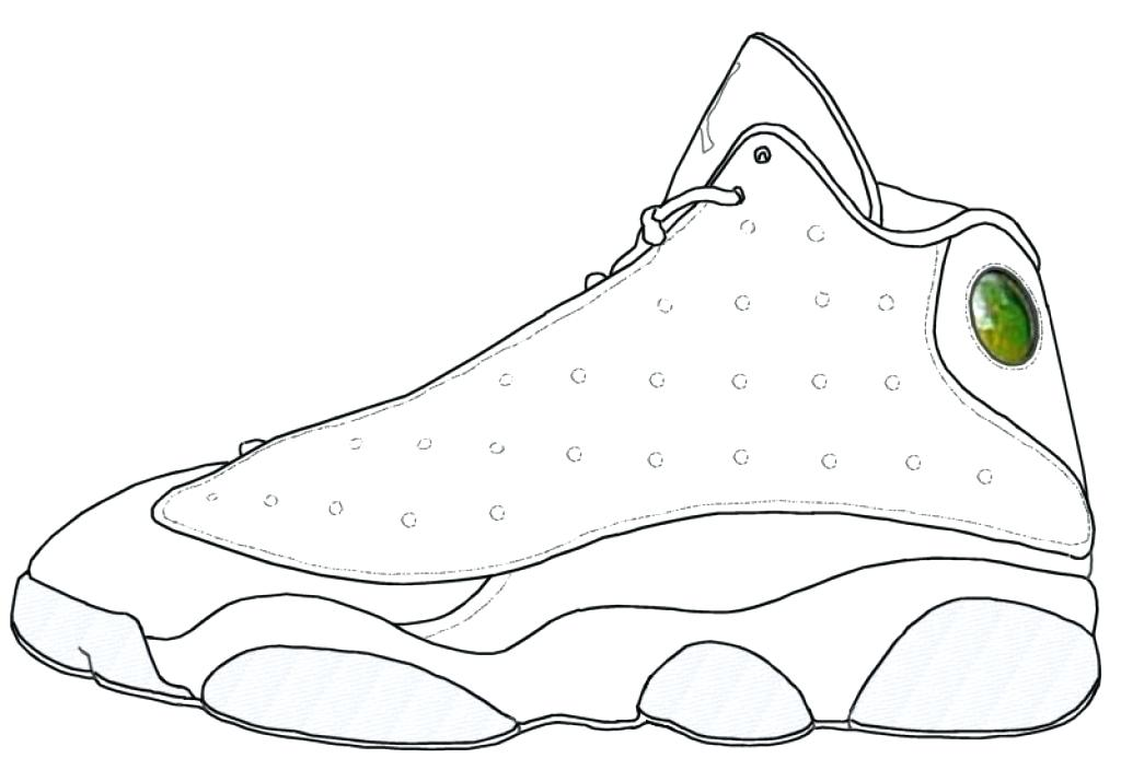 30 Tennis Shoe Coloring Pages Free Printable Coloring Pages