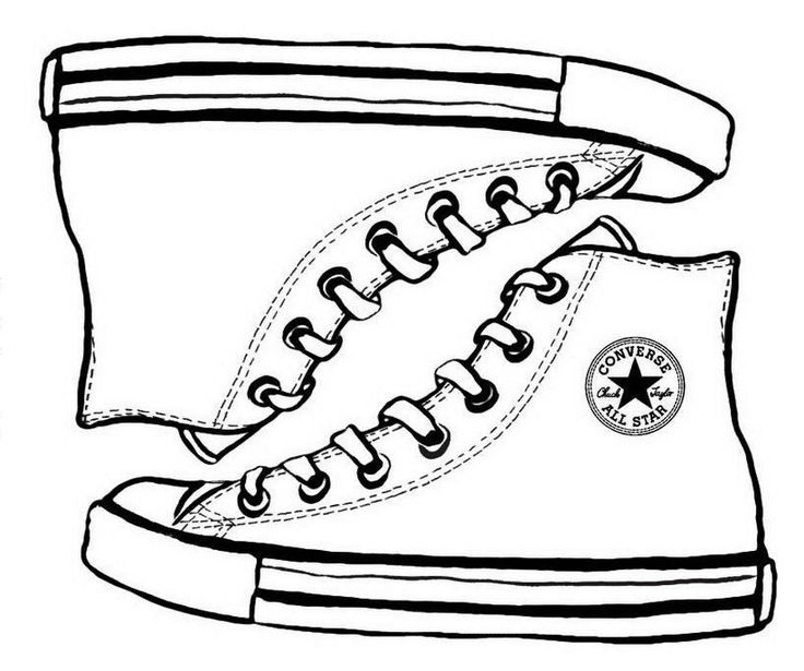 736x615 Best Shoes Coloring Page Images On Colouring, Nike