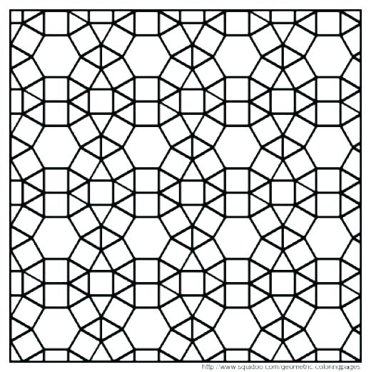 520x521 Inspirational Of Tessellations Coloring Pages Image Inspirational