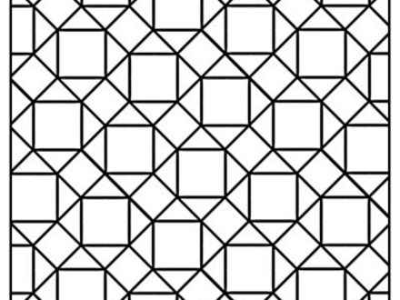 Tessellations Coloring Pages Printable