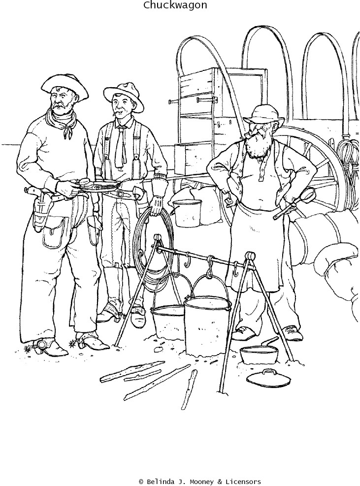 731x987 Cattle Drive Coloring Pages Coloring Pages