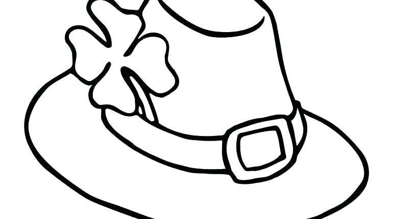770x430 Cowboy Hat Coloring Page Cowboy Hat Coloring Pages Cat And The Hat