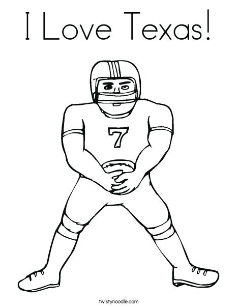 468x605 Top Rated Texas Coloring Pages Pictures Football Player Coloring