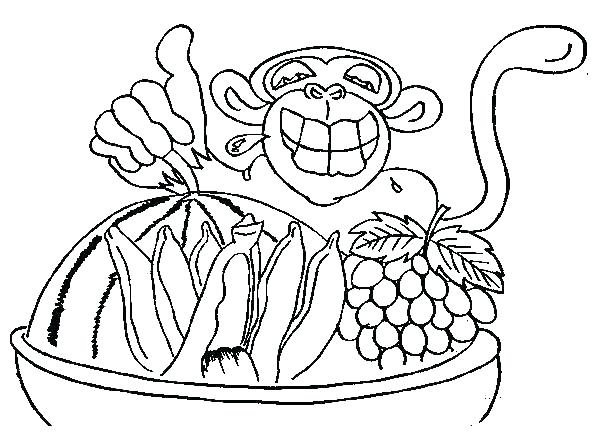 600x444 Chimpanzee Coloring Pages Chimp Coloring Page Example Of Invented