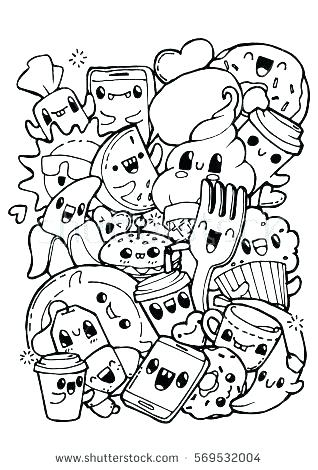 318x470 Zendoodle Coloring Pages Coloring Pages With Abstract Pattern