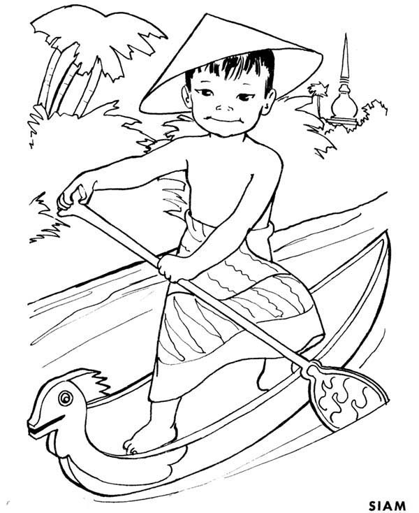 Thailand Coloring Pages At Getdrawings Com Free For Personal Use