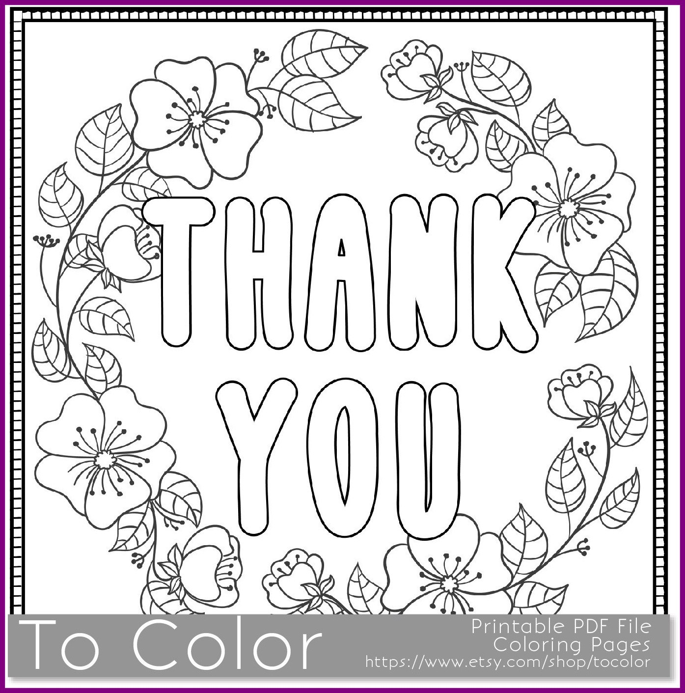 1395x1411 Marvelous Thank You U Coloring Page For Grown Ups This Is