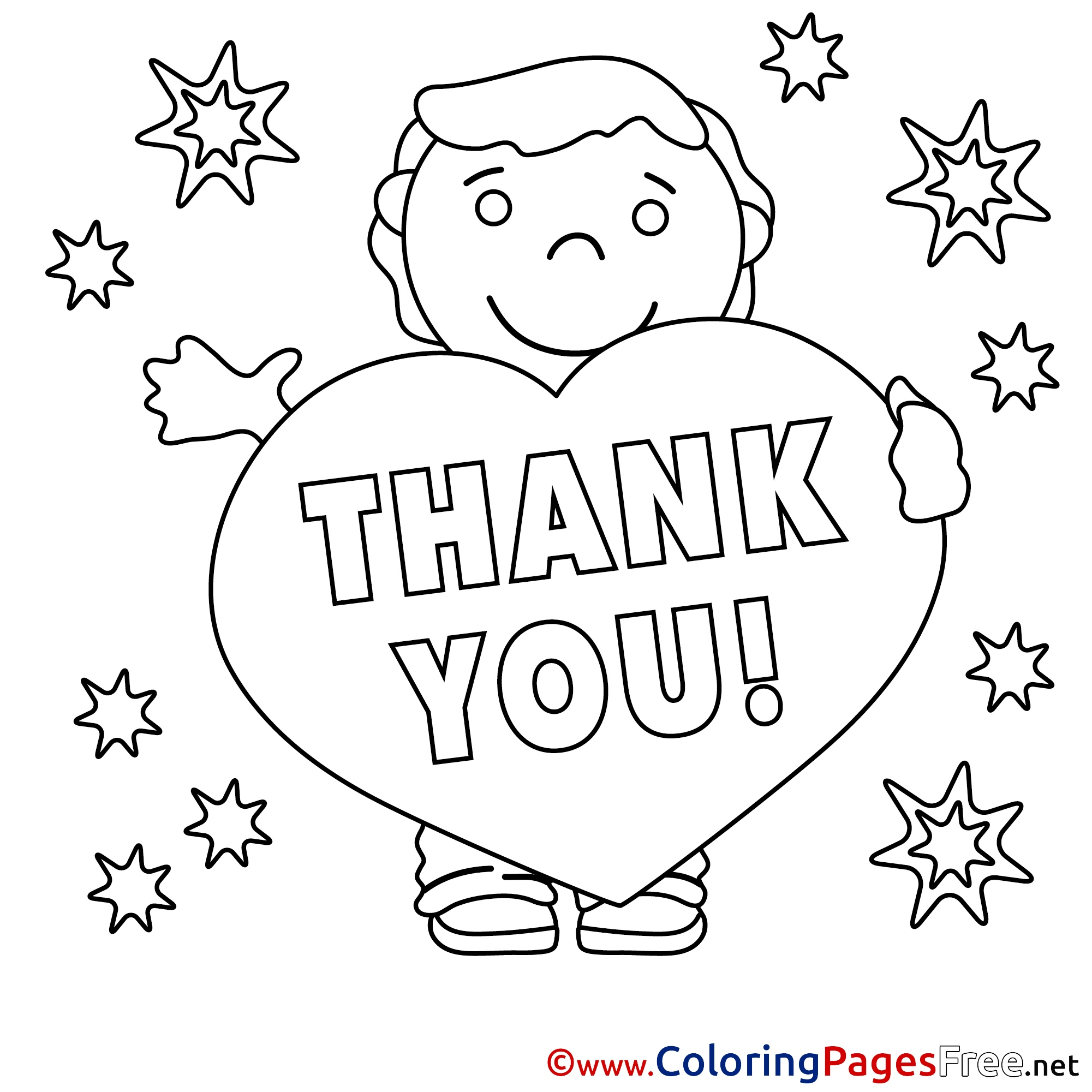 2001x2001 Thank You Coloring Pages Beautiful Thank You Coloring Pages Free