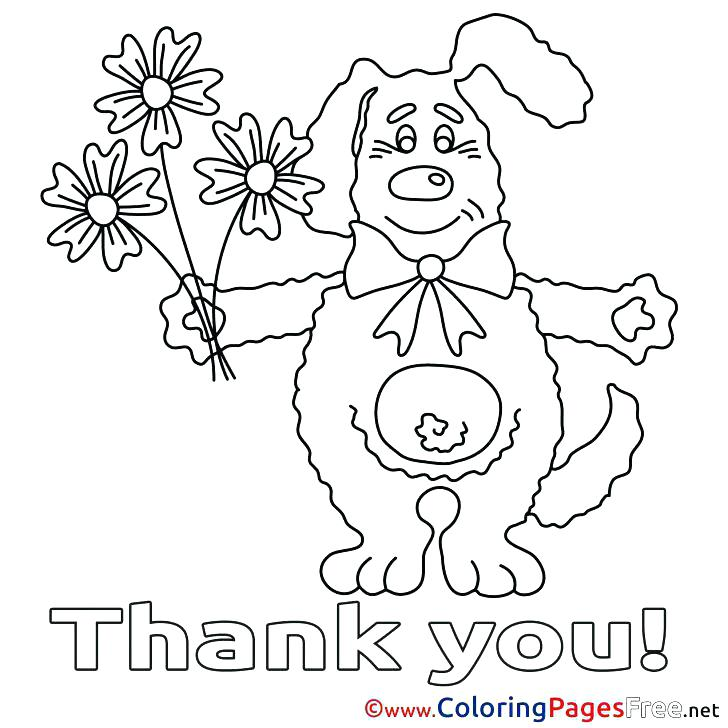 728x728 Thank You Coloring Sheets Coloring Sheets For Kids