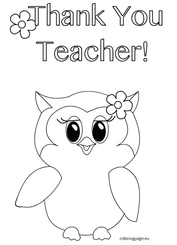 595x822 Teacher Appreciation Coloring Pages Thank You Coloring Sheet