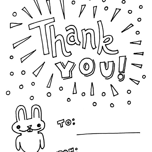 600x600 Thank You Coloring Sheets Free Coloring Pages Of Me To You Thank