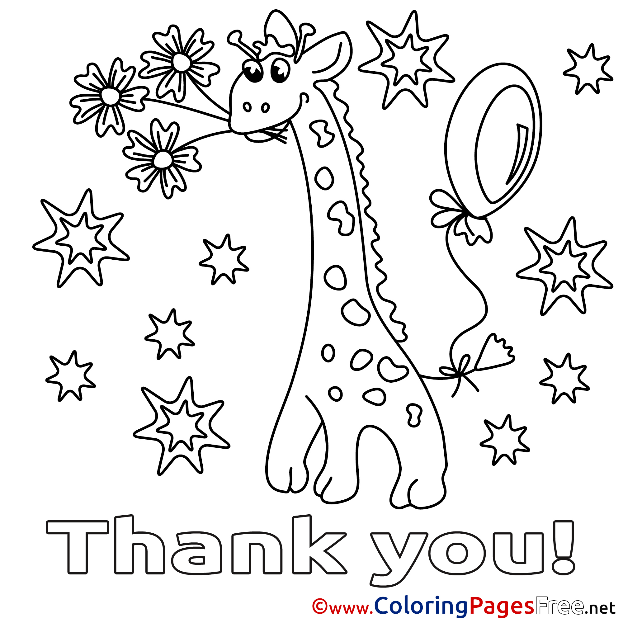 2001x2001 Coloring Pages Of Thank You Cards Within Page