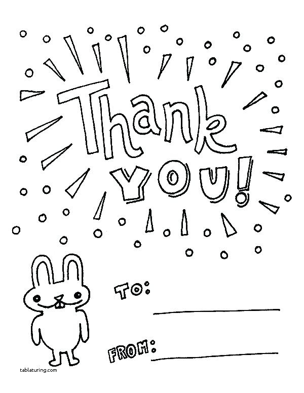 600x776 Thank You Coloring Pages Awesome Thank You Coloring Page Thank You