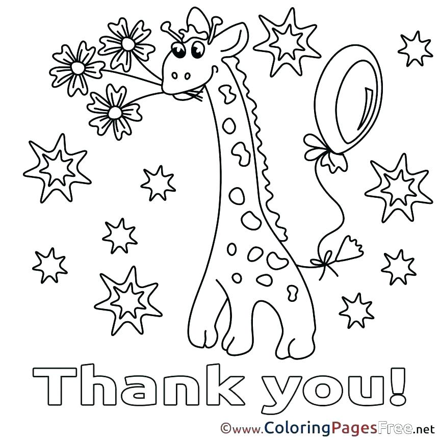 863x863 Thank You Coloring Pages Splat The Cat Says Thank You Coloring