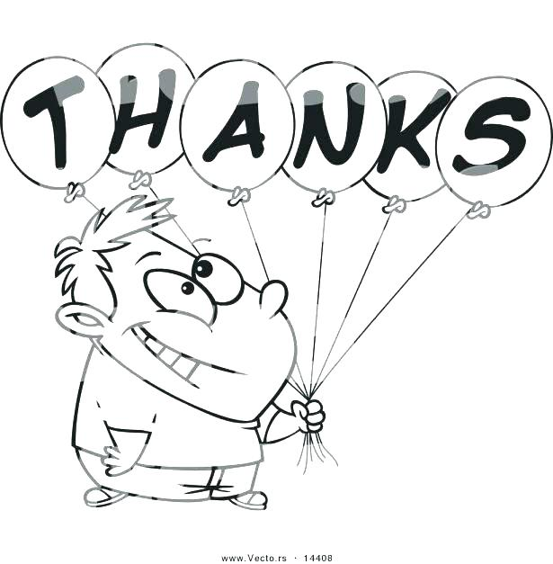 615x627 Thank You Coloring Pages Thank You Coloring Page Thank You