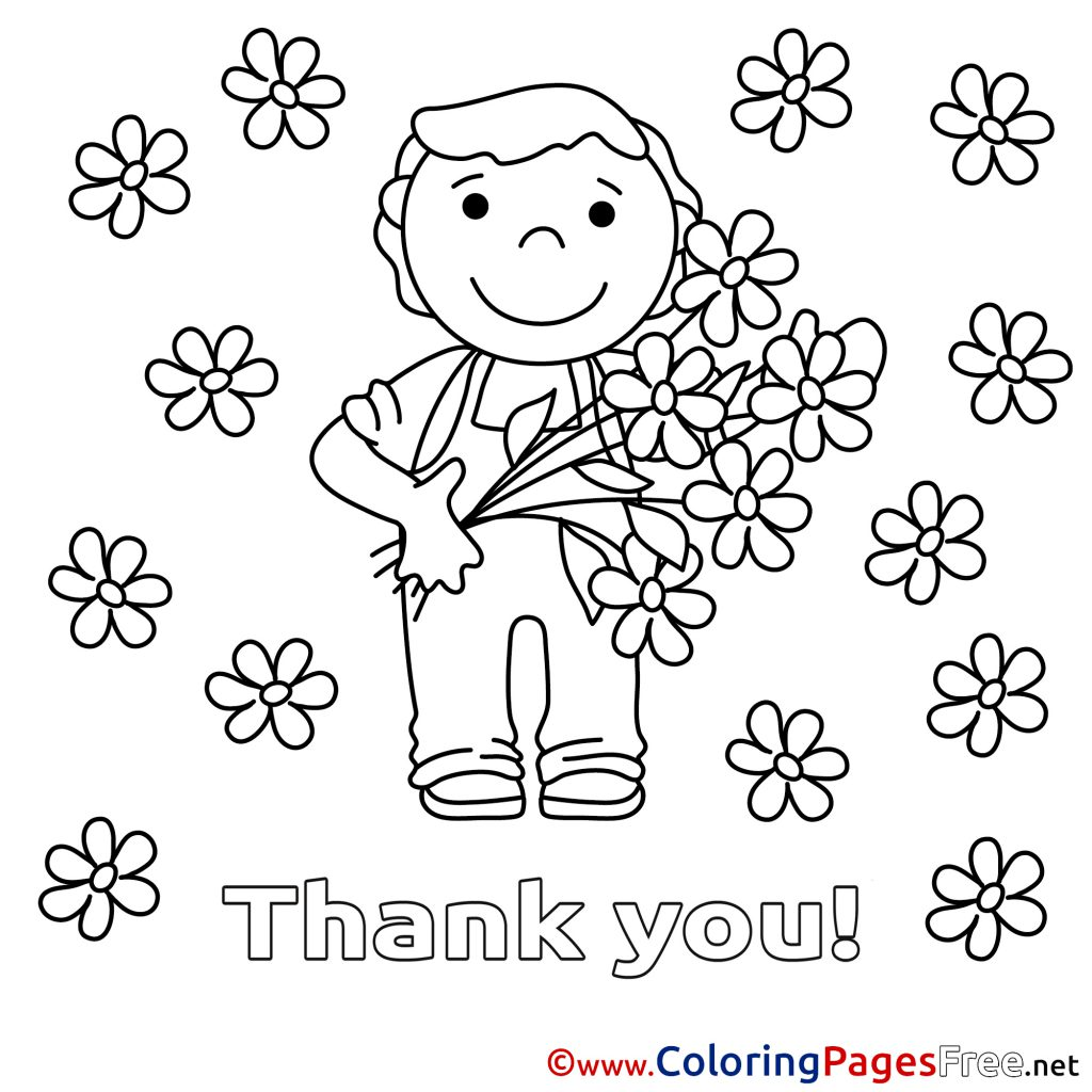 1024x1024 Thank Youloring Pages For Teachers Free Teacher Cards Stunning You