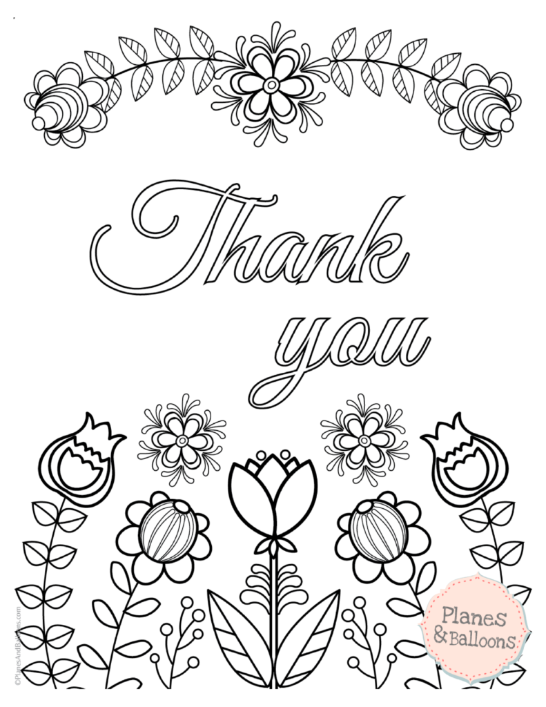 791x1024 Excellent Design Ideas Thank You Coloring Pages Wonderful