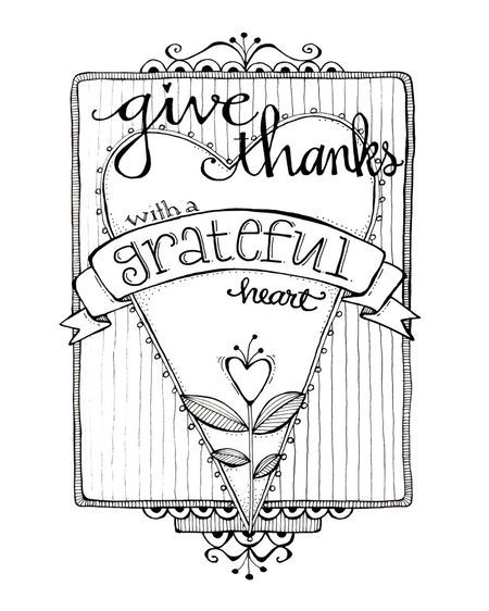 450x562 Give Thanks Coloring Page Grateful Heart, Grateful And Journaling