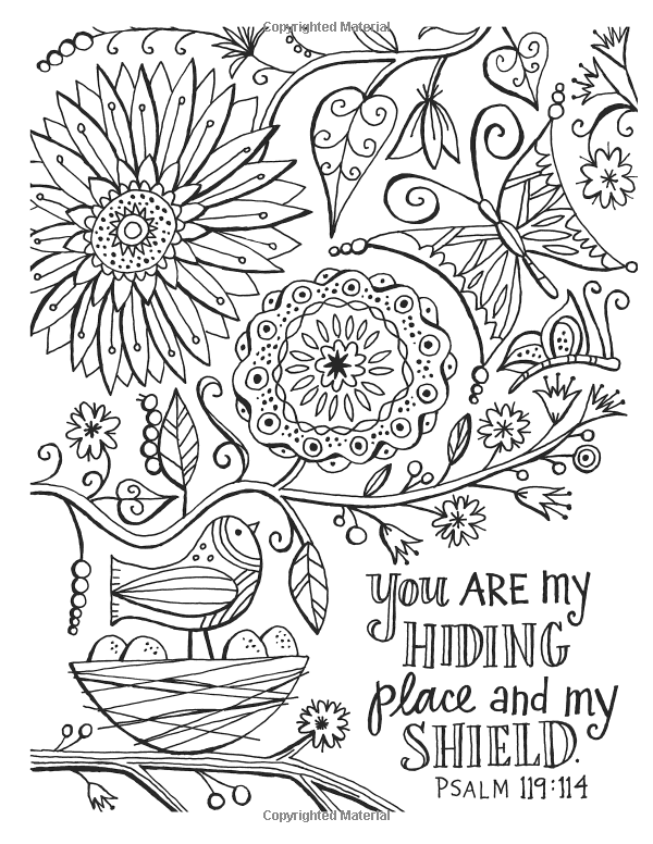 600x776 Color The Promises Of God An Adult Coloring Book For Your Soul