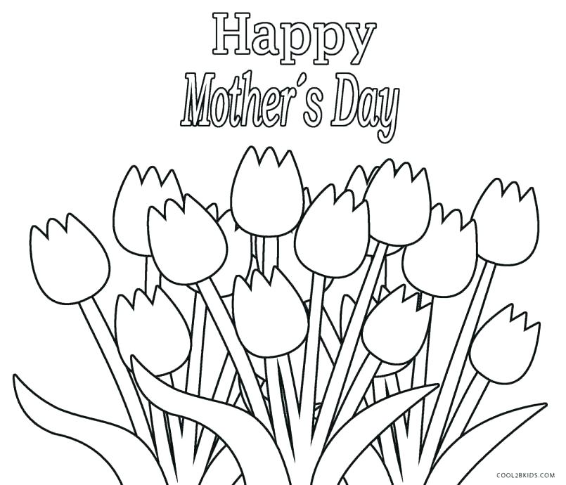 Thank You Mom Coloring Pages