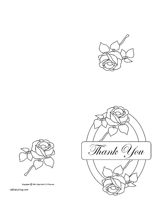 617x800 Thank You Card Coloring Page Thanksgiving Dinner Coloring Pages