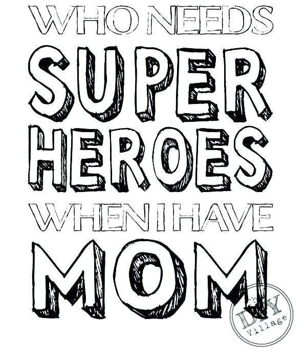 600x703 I Love My Mom Coloring Pages