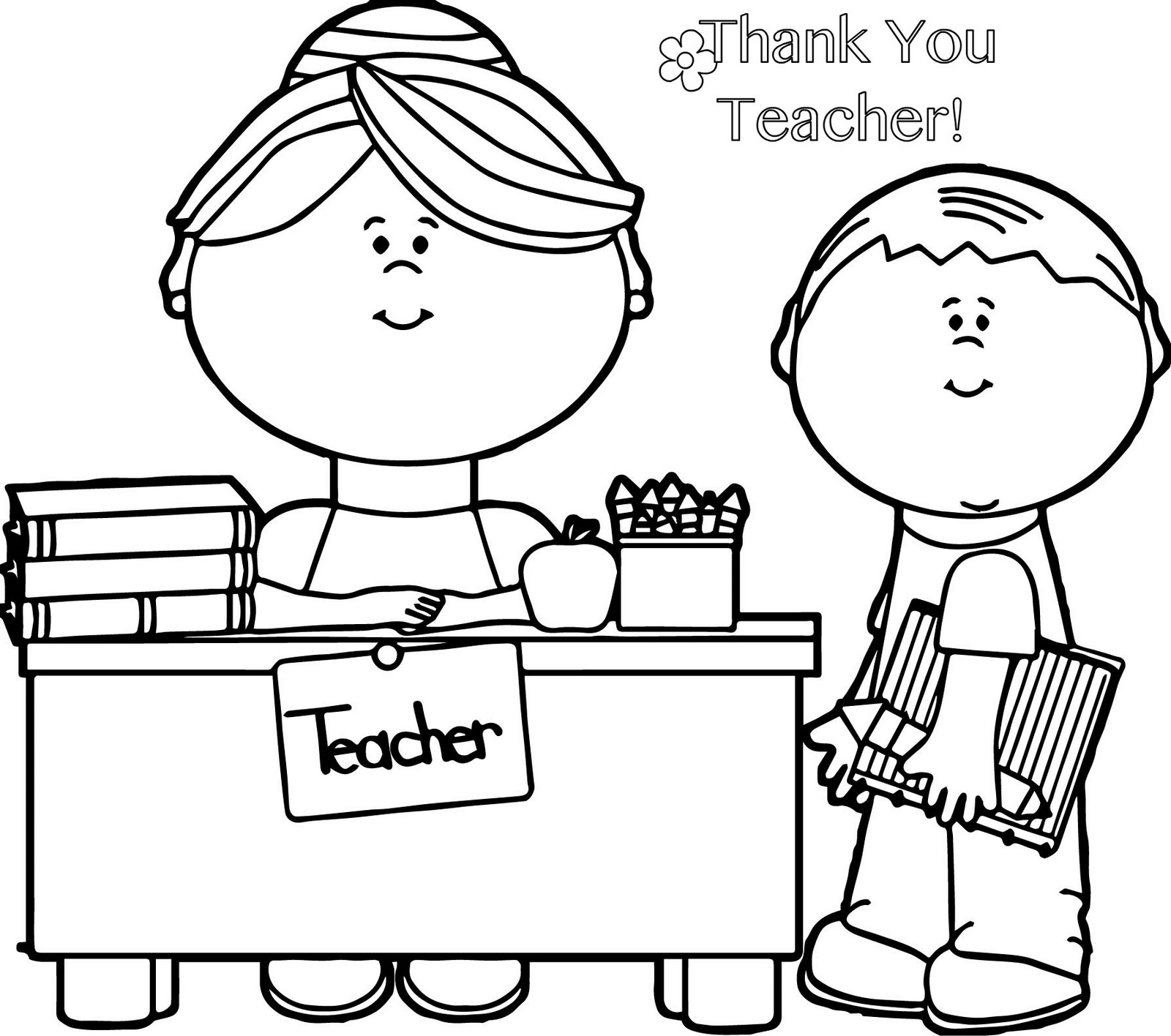 1600x1416 Gift Card Of Thank You Teacher Coloring Pages Brilliant