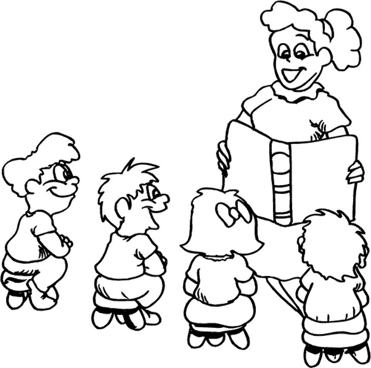 730x723 Teacher Coloring Pages
