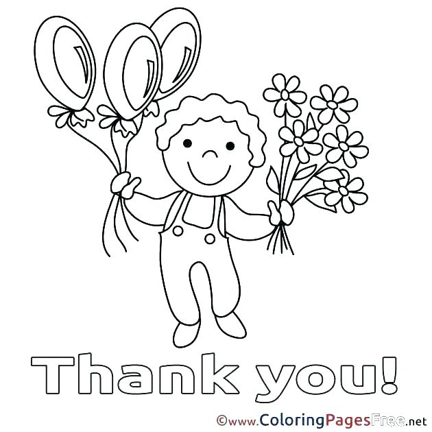 630x630 Amazing Decoration Thank You Coloring Pages Thank You Teacher