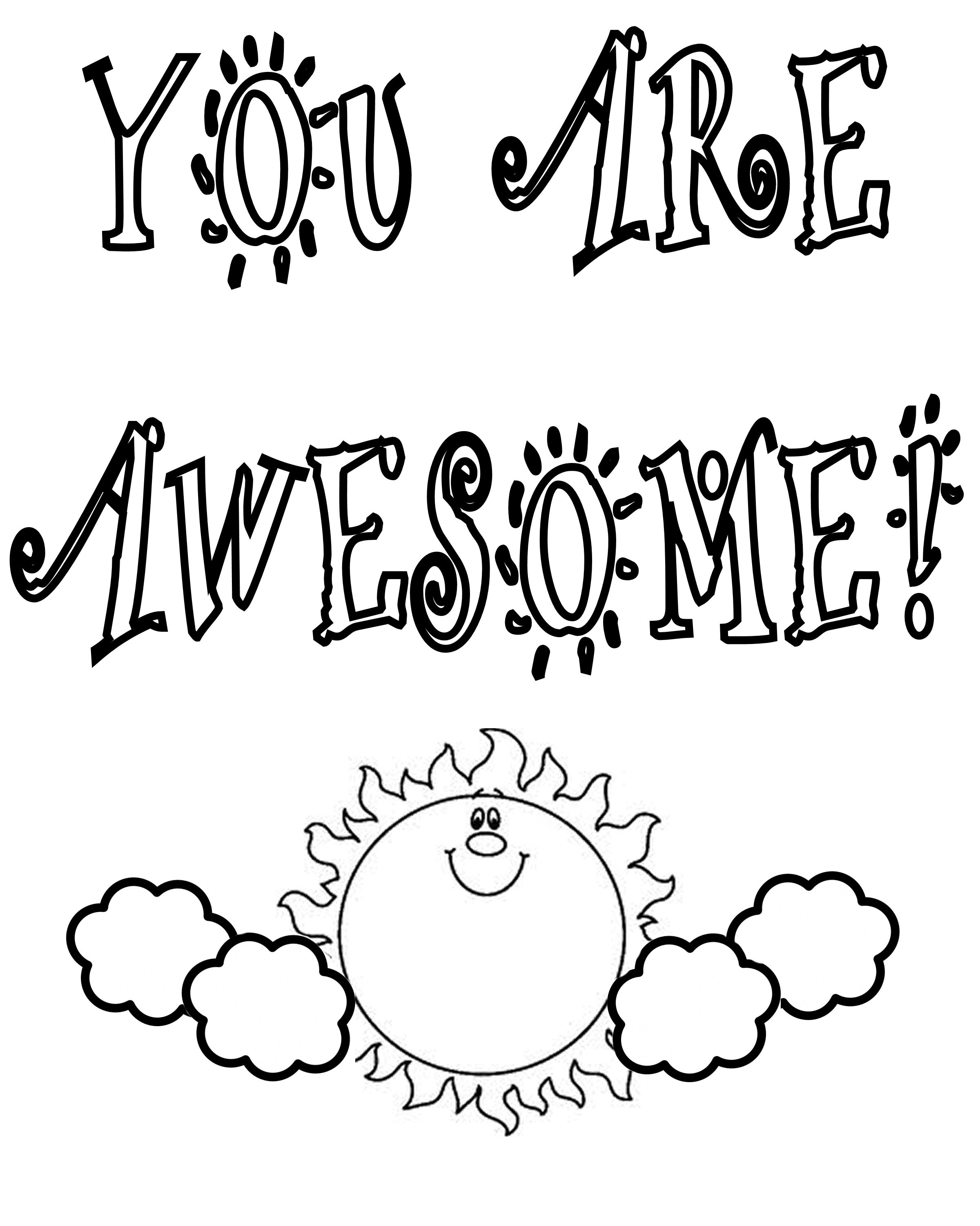 2400x3000 Thank You Coloring Pages Only Teacher