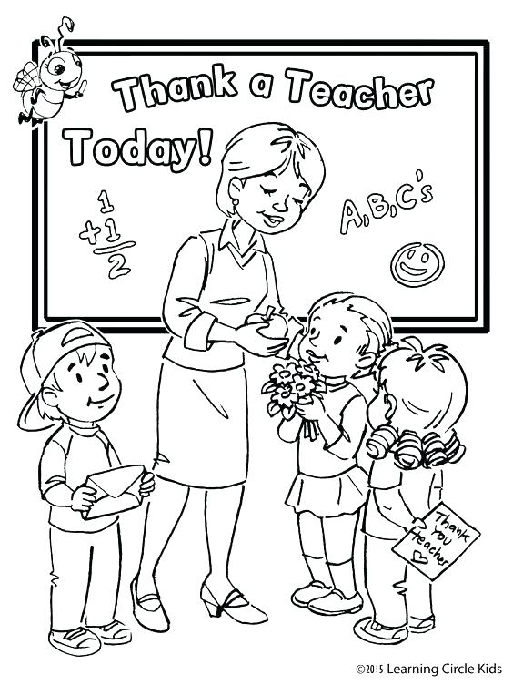564x752 Thank You Teacher Coloring Pages S Teacher Coloring Pages