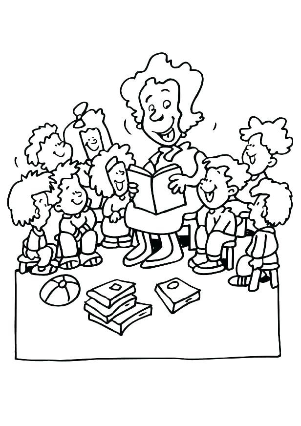 616x872 Coloring Teacher Coloring Page Teacher Teacher Images Coloring